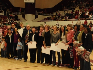 kaplan,anita - team honored